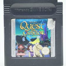 Quest for Camelot | Nintendo Game Boy Spiel | GameBoy Color Modul | Akzeptabel