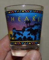 Nice Colorful Hearst Castle California CA Souvenir Shot Glass MINTY Rare