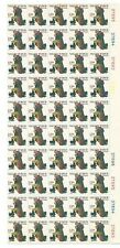 United States 1977 Plate Sheet Of 50 Mnh Stamps Of Christmas 13 Cent Valley Forg