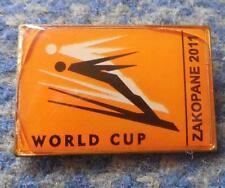 FIS WORLD CUP SKI FLYING JUMPING POLAND ZAKOPANE 2011 BIG PIN BADGE
