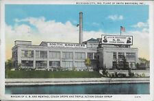 Michigan City IN Plant of the Smith Brothers Cough Drops vintage used 1938