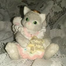 "Vintage 1994 Cute Little Priscilla Hillman Kitten ""You Are a Special Grandma"""
