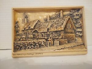 Vintage Ann Hathaway's Cottage Shorrery, Enland. Osborne Ivorex