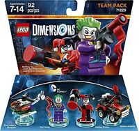 NEW LEGO Dimensions Team Pack PS4 PS3 Xbox 360 One Wii U