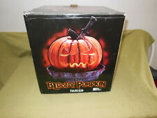 VINTAGE Halloween BLOODY PUMPKIN FOUNTAIN in Box/ nos