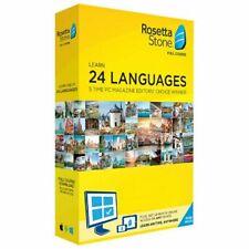 Rosetta Stone Lifetime Subscription Access 24 Languages