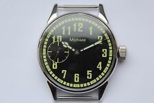 Vintage USSR Watch PILOT 3602 Military WW2 AVIATOR WAR2 Wristwatch Soviet Steel