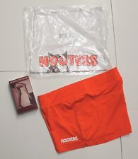 NEW HOOTERS UNIFORM TANK//SHORTS HOSE//L SOCK POUCH//TAG HALLOWEEN COSTUME XS S M L