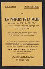 """ORLEANS (45) LES PRODUITS DE LA RUCHE """"par ALIN CAILLAS"""" Tract publicitaire"""