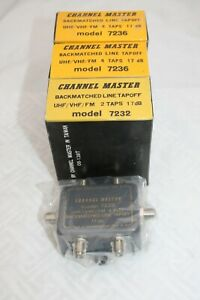 CHANNEL MASTER 17 db LINE TAPOFF #7232