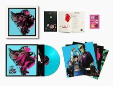 Gorillaz: The Now Now Deluxe Blue Vinyl LP Box Set