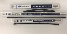 2006-2007 Subaru Tribeca Front & Rear Windshield Wiper Blade Refill Set Genuine