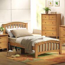 ACME San Marino Twin Panel Bed, Maple wood.