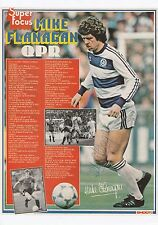 Queens Park Rangers Mike Flanagan 1980-1984 Corte Revista Original Firmado