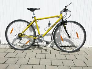 Focus Redfalls 26 Zoll Trekking Fahrrad, Farbe gelb, vintage Stahlrahmen