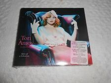 CD- TORI AMOS, TALES OF A LIBRARIAN  / NEW / SEALED  PLUS BONUS DVD (Digipak)