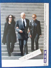"Original Press Photo - 8""x6"" - Harry Belafonte - with daughters - 2003"