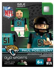 Paul Posluszny OYO Jacksonville Jaguars NFL Football Figure G2