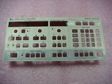 HP Agilent 8350B FacePlate Face Only