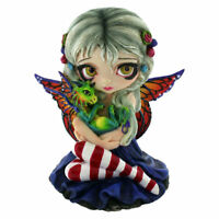 Estatua Hada Cara Dragonling 12cm Strangelina Jasmine Becket-Griffith