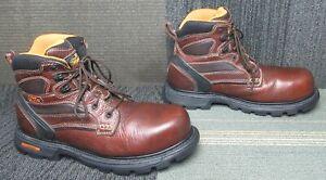 """Mens Thorogood Gen-Flex 6"""" Waterproof Composite Toe Work Boot 12 M"""