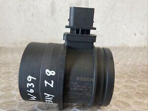 Mercedes Benz Vito W639 CDi Mass Air flow Meter Sensor A0000942048 0281002585
