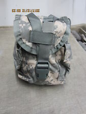 Molle II ACU Canteen Pouch New, New, New  Utility MRE Dump Ammo Condom Free Ship