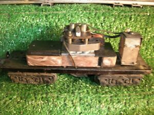 LIONEL POST WAR  # 2671W   WHISTLE TENDER FRAME  NEED WIRING TUNING