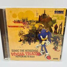 【Rare】Sonic the Hedgehog VOCAL TRAXX CD Original Soundtrack Game Japan