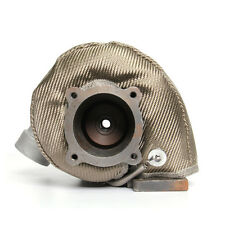 New listing Titanium Turbo Charger Blanket Heat Shield Cover For Gt/Gtx/Gtxr/3582 Hiwowsport