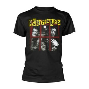 THE PARTISANS by THE PARTISANS : Official Black T-Shirt - NEW JULY 2021 , punk