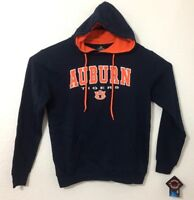 Auburn Tigers Pullover Hooded Sweatshirt Hoodie Navy By Colosseum - NWT