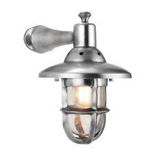 Lampade da parete da interno argento alluminio , Tipo di presa E27