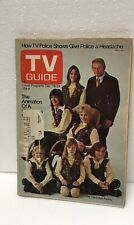 Tv Guide Magazine The Partridge Family Vintage 1971