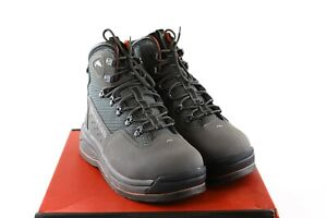 Simms Headwaters Wading Boots Size 11- Felt Soles - Coal