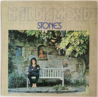 NEIL DIAMOND STONES LP MCA UK 1971 BLACK LABELS NEAR MINT PRO CLEANED