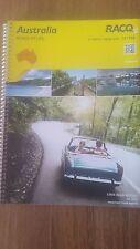 AUSTRALIA ROAD & 4WD ATLAS 11th EDITION MAPS & GUIDES RACQ HEMA
