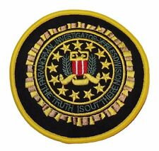 X-Files TV Series Paranormal Investigator Logo Patch