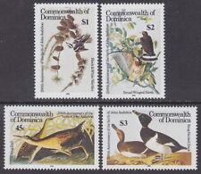 DOMINICA - 1985 Birth Bicentenary of John J Audubon (4v) - UM / MNH