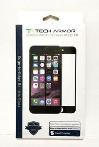 Tech Armor Ballistic Glass Screen Protector iPhone 6 Plus 5.5 inch Space Gray