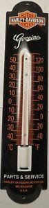 Harley Davidson Enamel Thermometer