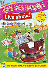 JUSTIN FLETCHER - THE BIG PARTY LIVE NEW DVD