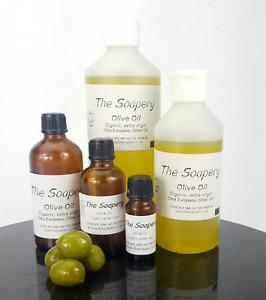 Olive Oil - Organic Extra Virgin Cold Pressed 10ml - 1 litre 100% Pure Unrefined