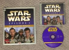Star Wars Episode I: The Phantom Menace Read Along CD & Book Set Used Excellent