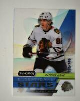 2020-21 UD Synergy Exceptional Stars #ES-1 Patrick Kane /749  Chicago Blackhawks