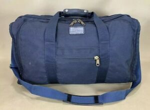 "Vintage Tumi Navy Blue Ballistic Nylon 21"" Carry On Weekender Duffel Bag"