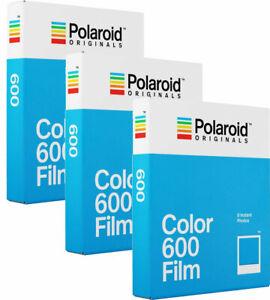 Polaroid Originals 600 Color Film TRIPLE Pack fro Polaroid 600 Cameras (24 Sh...