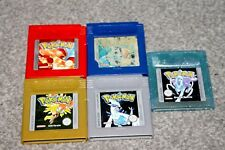 Nintendo Gameboy Colour - Pokemon Blue, Red, Gold, Silver, Crystal - EUR