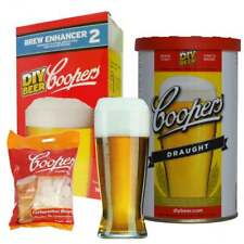 COOPERS Home Brew Bundle Kit - DRAUGHT BEER + Brew Enhancer + Carbonation Drops