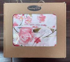 Smiling Home 100% Organic Cotton Feeling-Size Full-Sheet Set